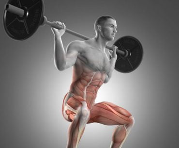 Compound exercise - back squat