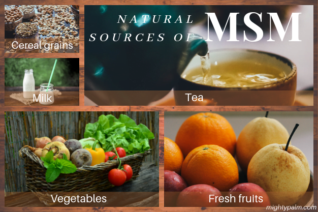 Natural Sources Of MSM